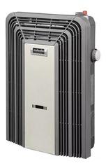 Calefactor a gas 3000 Kcal/h sin salida ESKABE TITANIO TT MX 3 CV TE Multigás Con termostato, color cava con aromatizador