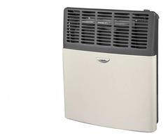 Calefactor a gas 3000 Kcal/h. Tiro Balanceado ESKABE S21 TB 3 Multigás, Marfil con aromatizador
