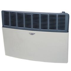 "Calefactor a gas 5000 Kcal/h. Tiro Balanceado en ""U""  ESKABE S21 TBU 5 Multigás, Marfil con aromatizador. Salida vertical al exterior"