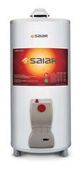 TERMOTANQUE A GAS 50 LTS. DE PIE SAIAR TPG050 BLANCO, CONEXIÓN SUPERIOR. MULTIGAS