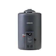 Termotanque a gas 50 lts. Alta Eficiencia LONGVIE T4050C Grafito. De colgar. Conexión inferior. EE A. Para gas natural