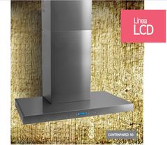 Campana de cocina 90 cm. LLANOS PREMIUM LCD 25263 Acero Inoxidable. Contrapared.