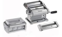 Set fábrica de pastas manual Marcato PASTA SET Acero Cromado. 6 tipos de pastas. Origen Italia