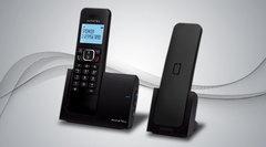 Teléfono inalámbrico de 2 bases ALCATEL G280 DUO Dect 6.0. Identificador de llamadas. Manos libres.