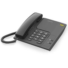 Teléfono de mesa ALCATEL T26 . Admite montaje en pared.