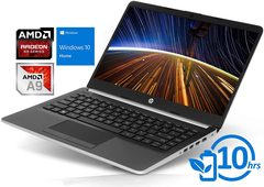 "Notebook 14"" HP DK-0002DX AMD A9-9425 4GB Memoria RAM 128GB Disco sólido. Windows 10"