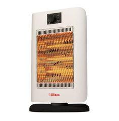 Calefactor eléctrico infrarrojo con forzador LILIANA CIGF200 RAPIHOT Oscilante 700/1400W