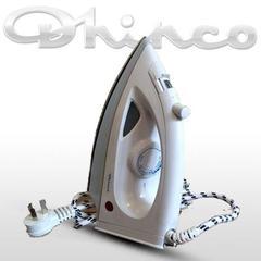 Plancha a vapor DHINCO Con rociador. Base antiadherente. 1100W