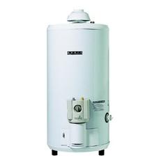 Termotanque a gas 80 lts. ORBIS 0080GON Blanco. De pie. Para gas natural.
