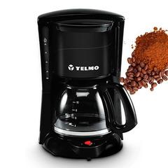 Cafetera eléctrica de filtro YELMO CA-7108. 12 Tazas. Filtro permanente. 800W